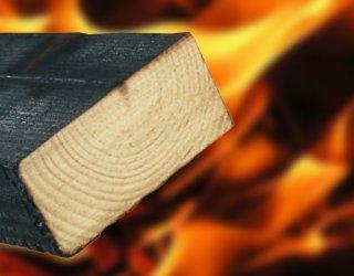 Оценка качества огнезащиты деревянных конструкций.