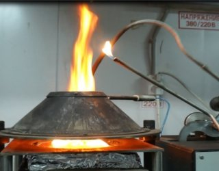 Оценка качества огнезащитной обработки текстильных материалов экспресс-методом.